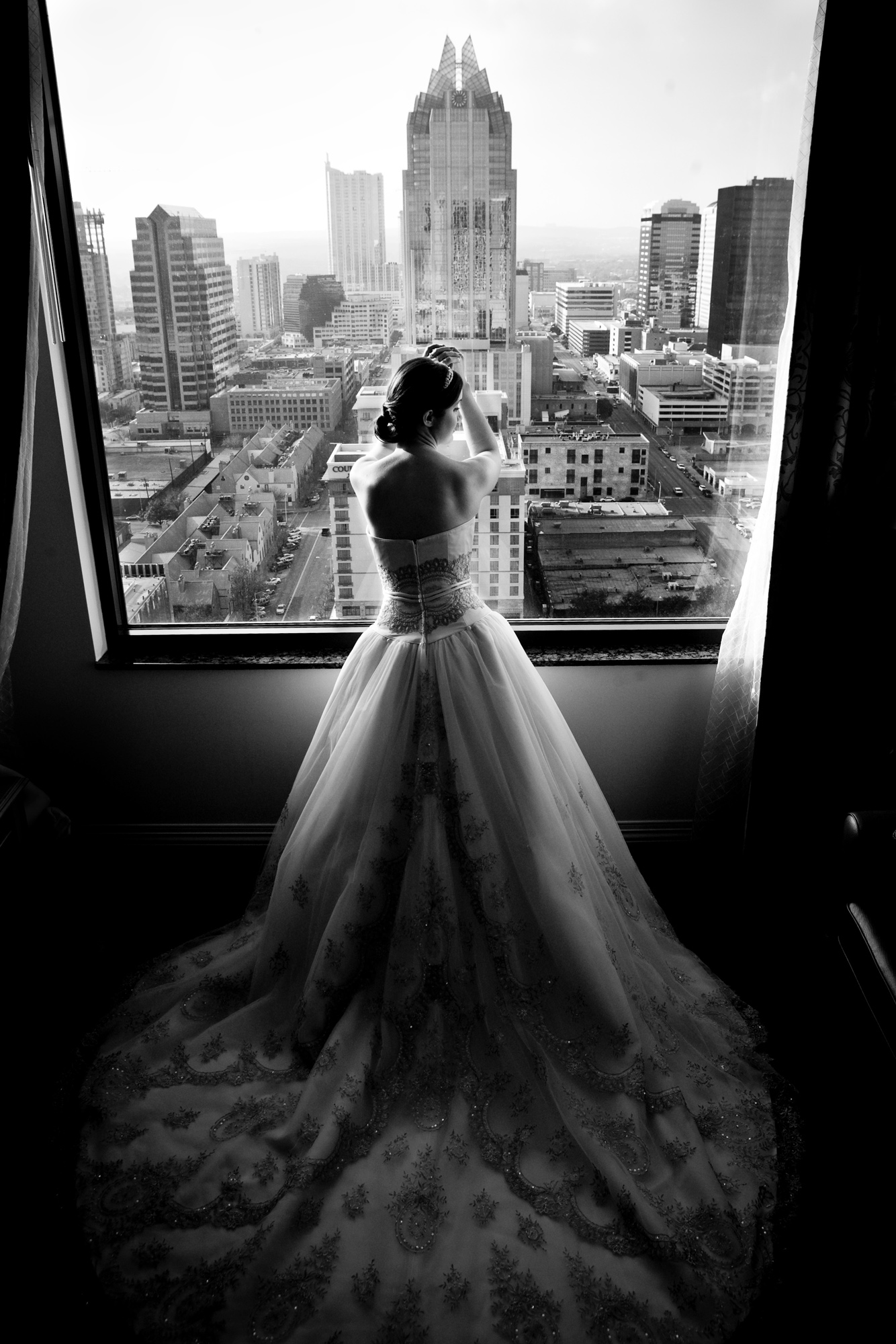Inspirational Bridal Image At