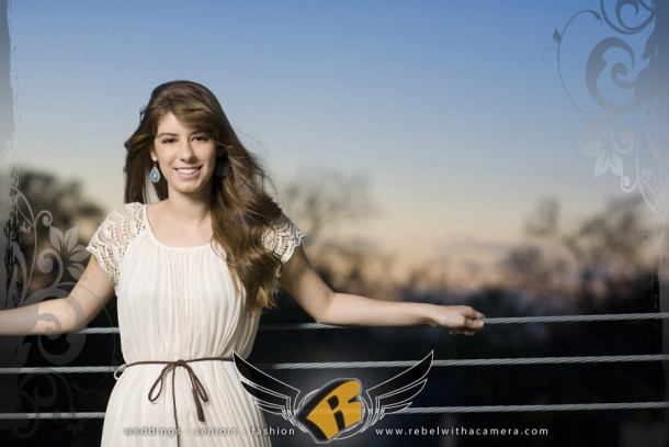 austin girl senior portrait at the long center and soco