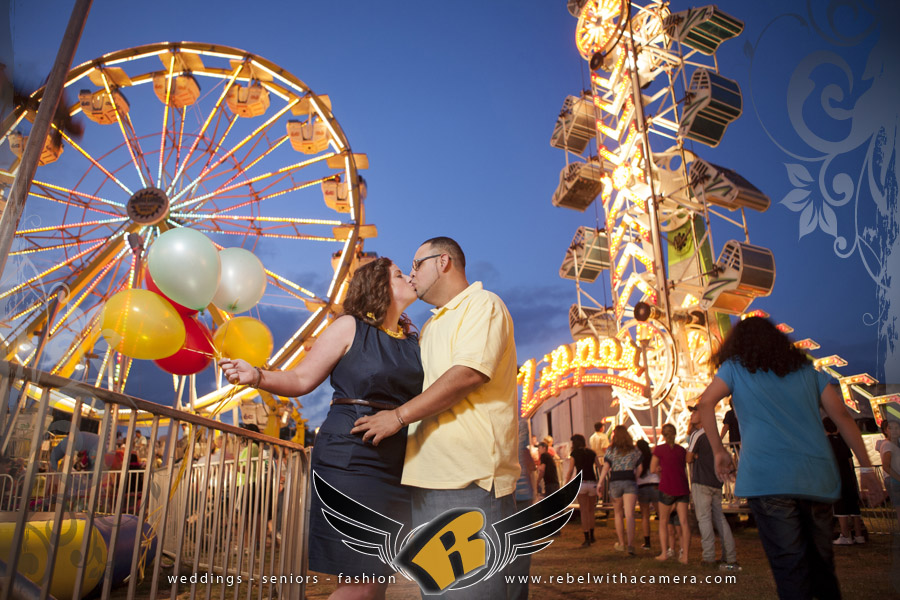 carnival engagement pictures texas