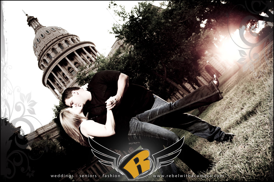 family engagement portraits at texas capitol austin
