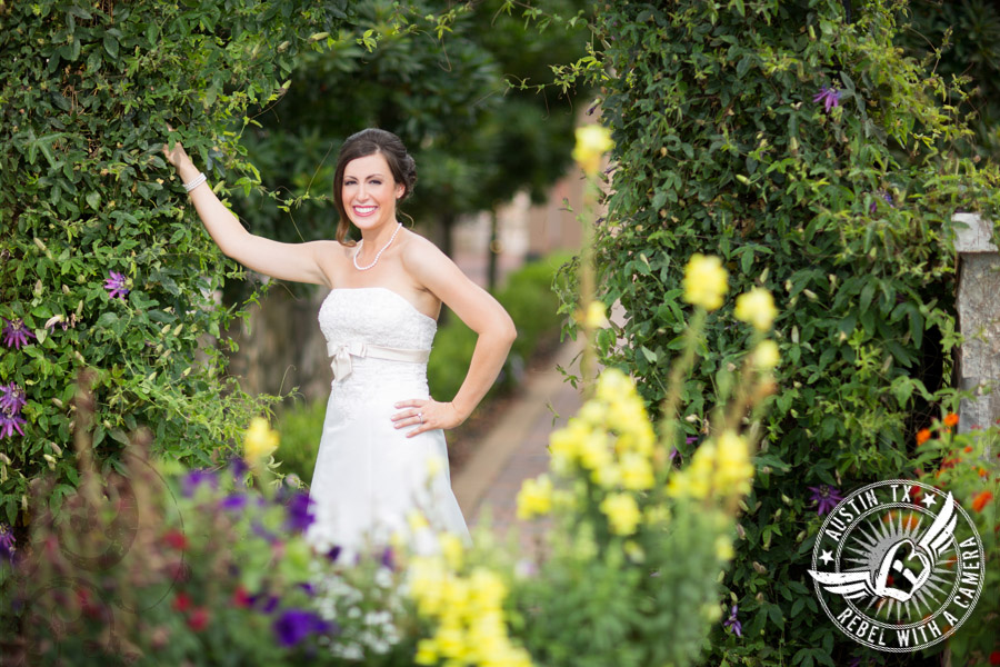 summer bridal portraits at nature's point