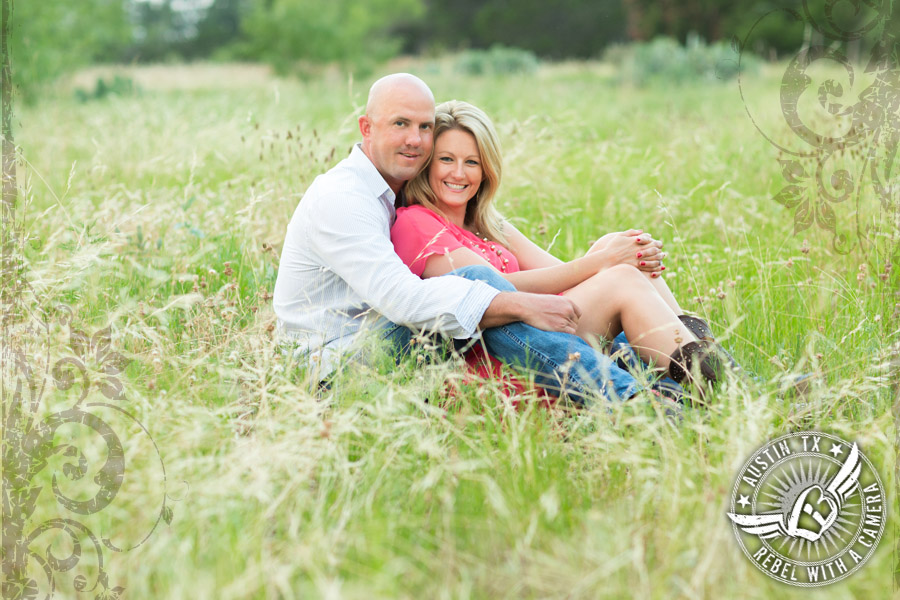 lakeway greenbelt engagement photos