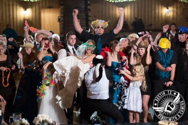 bright and beautiful wedding photos at gabriel springs event center