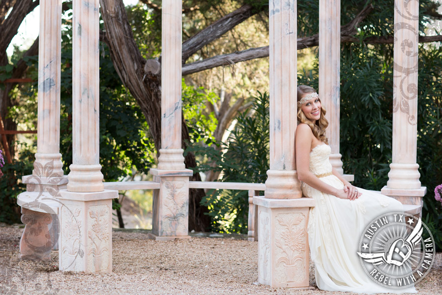 stunning bridal portraits at natures point