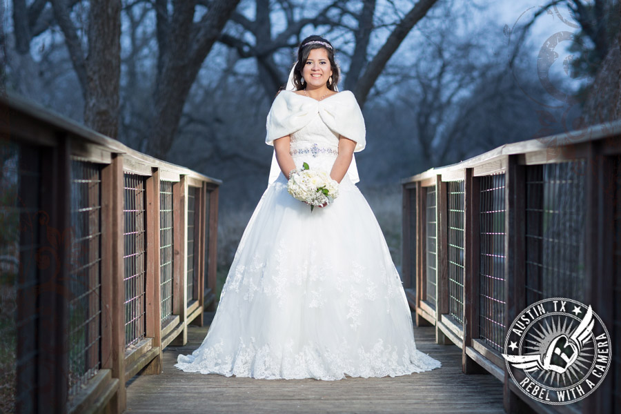 gorgeous bridal portraits in georgetown texas