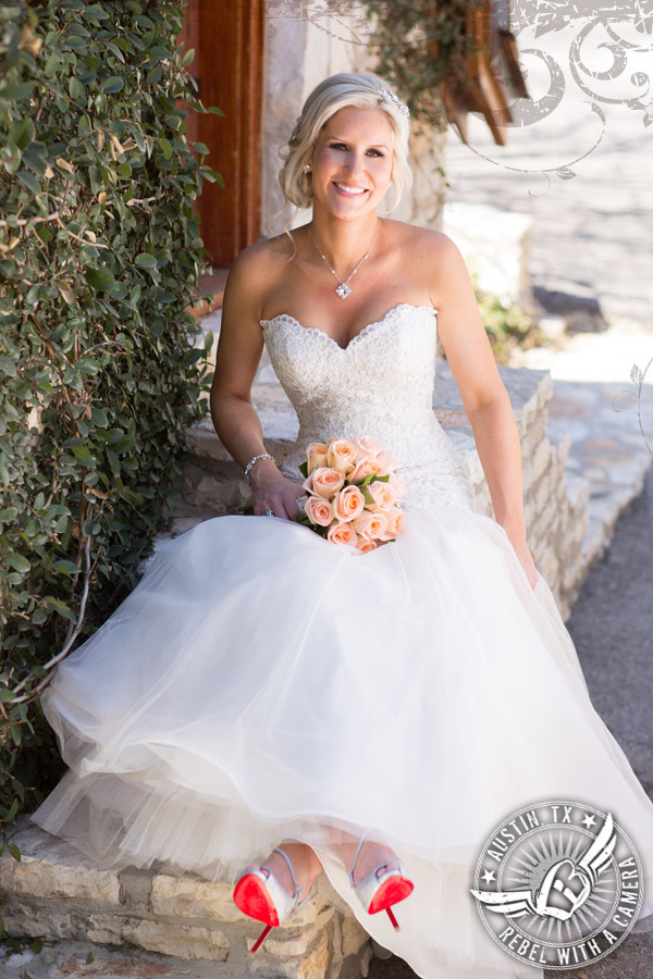 gorgeous bridal portraits at natures point