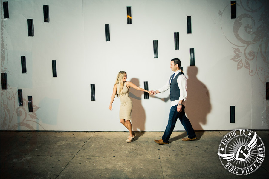 Downtown Austin Engagment session