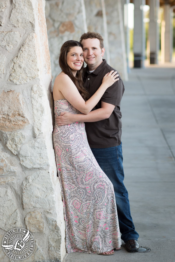 Austin engagement session at Butler Park