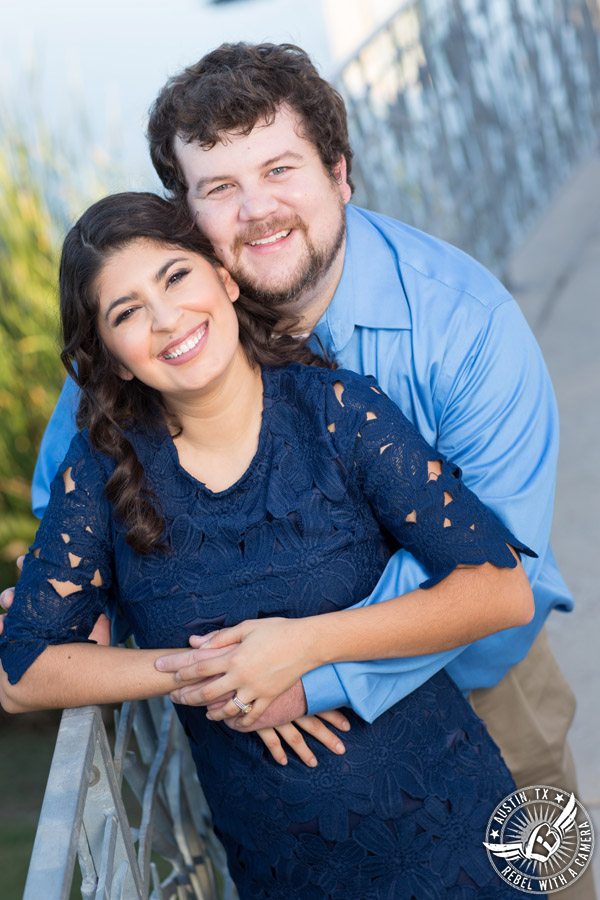 Austin engagement session at the Long Center