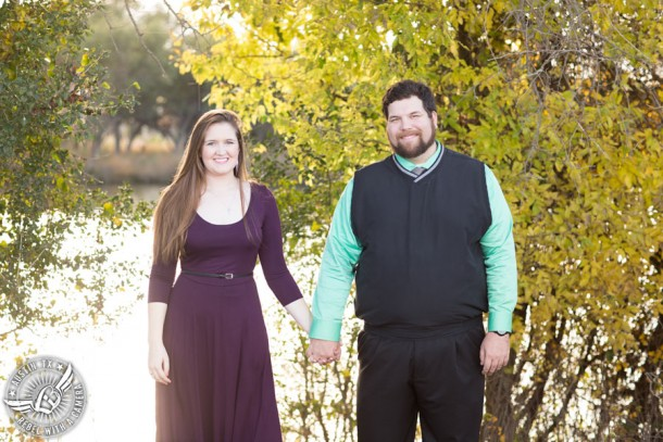 Engagement photographer in Round Rock, Texas
