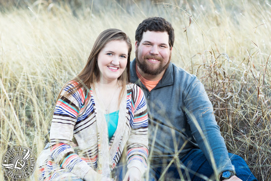 Engagement photography on Brushy Creek in Round Rock, Texas