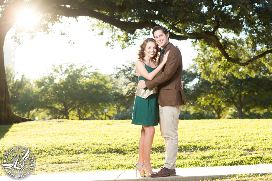 Austin engagement portraits