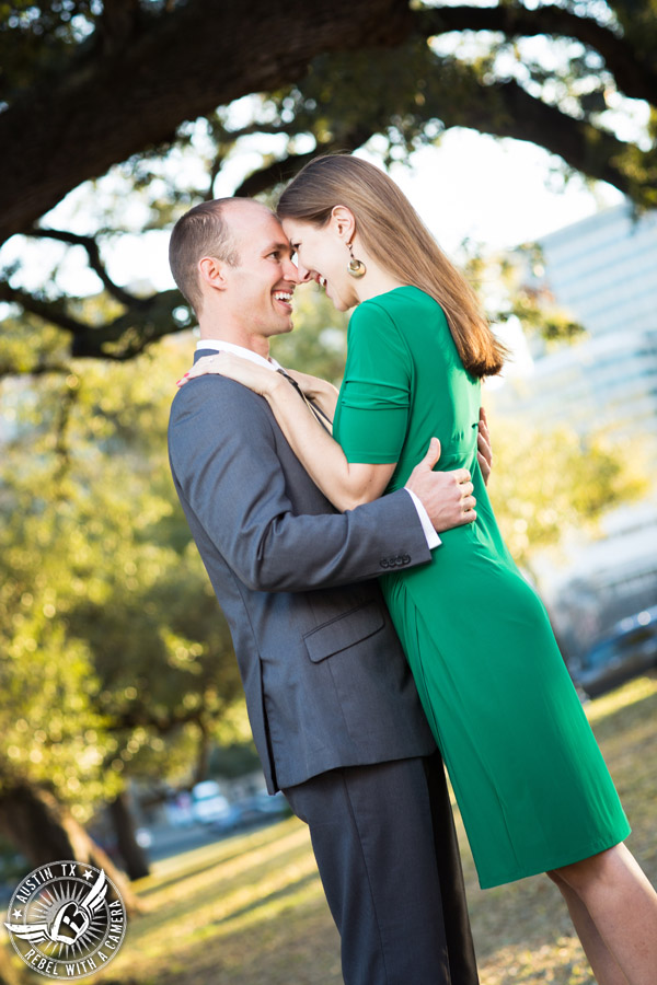 Austin engagement session at the Texas State Capitol
