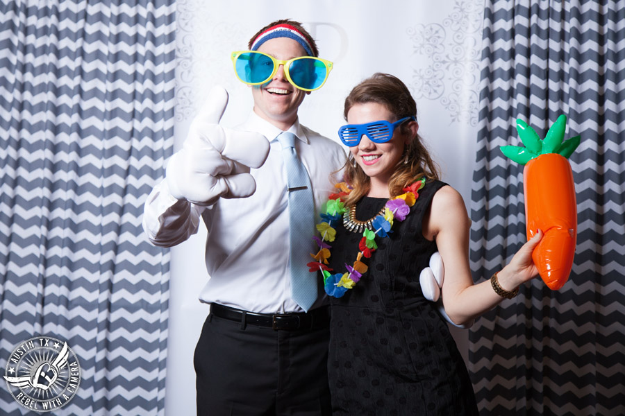 Austin photo booth at wedding venue
