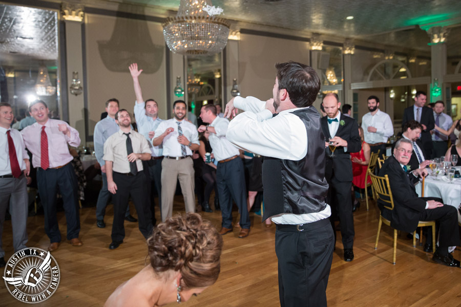Pictures of weddings at the Austin Club