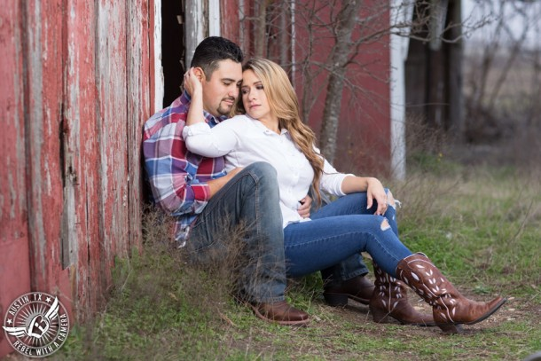 """""""Rustic engagement portraits in Round Rock, Texas"""