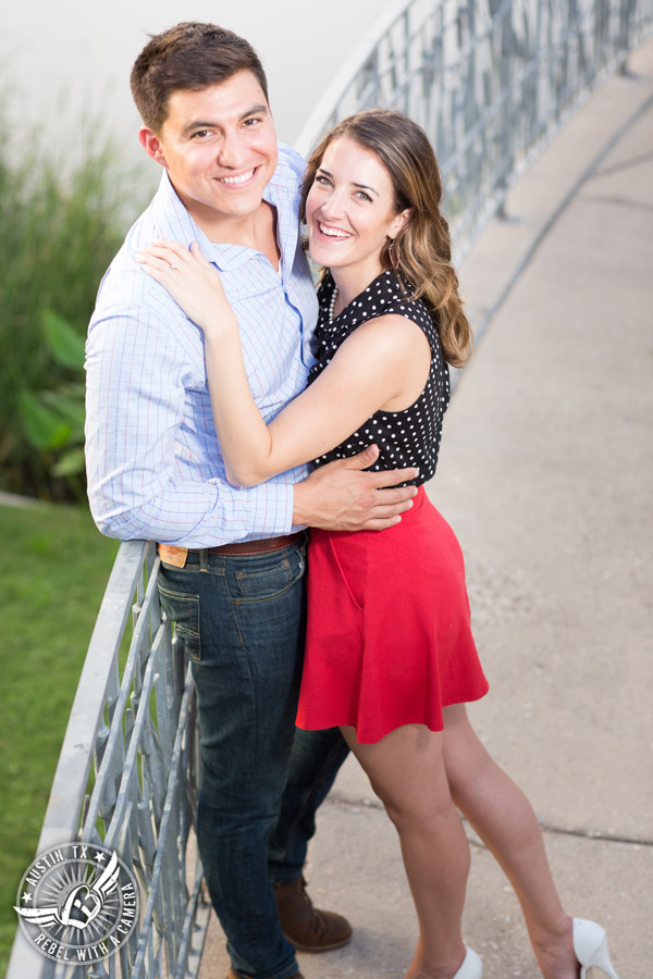 Fun South Congress engagement session in Austin