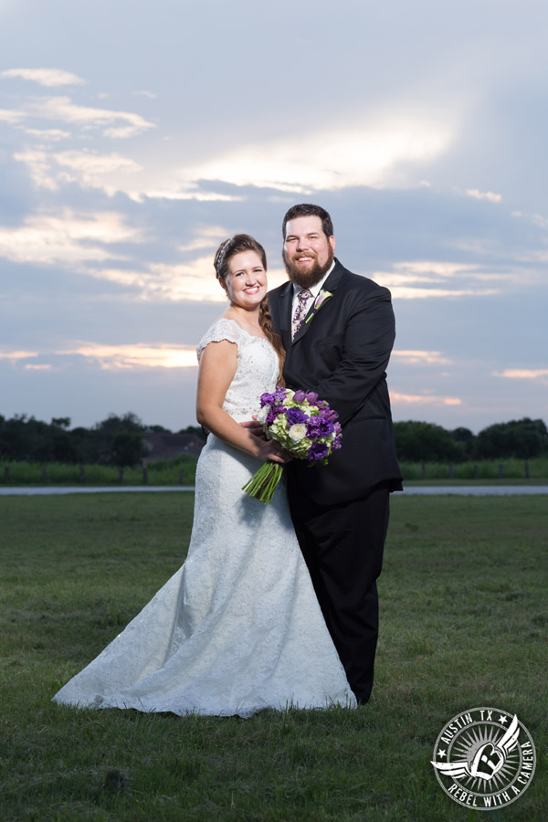 Sage Hall wedding photos at Texas Old Town