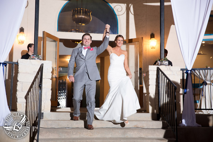 Hamilton Twelve wedding photos - bride and groom are announced at the reception