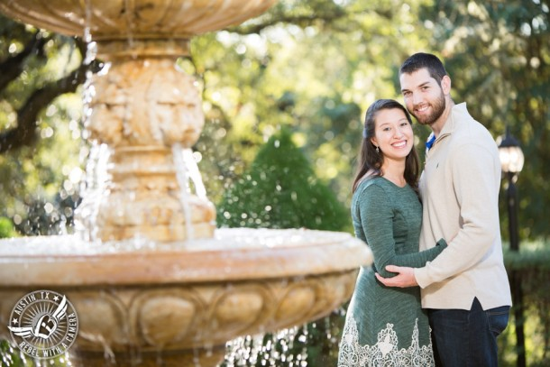 Engagement pictures at Nature's Point on Lake Travis in Austin, Texas