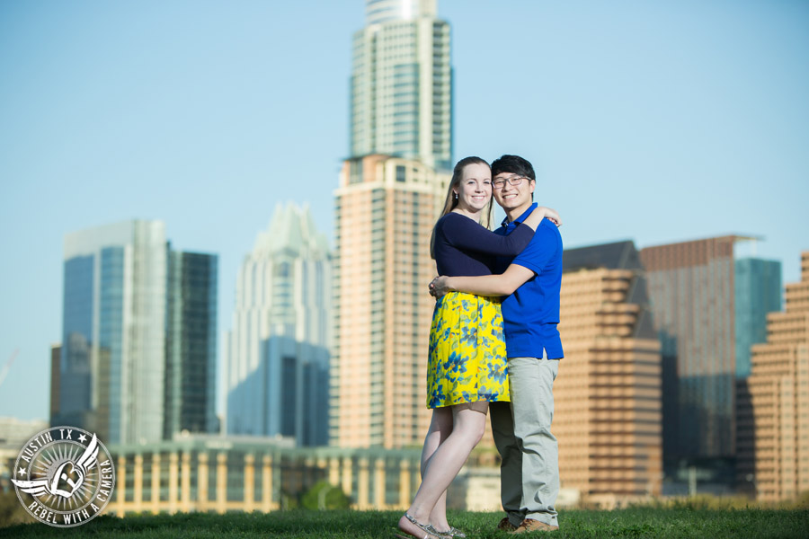 Fun engagement session in Austin, Texas