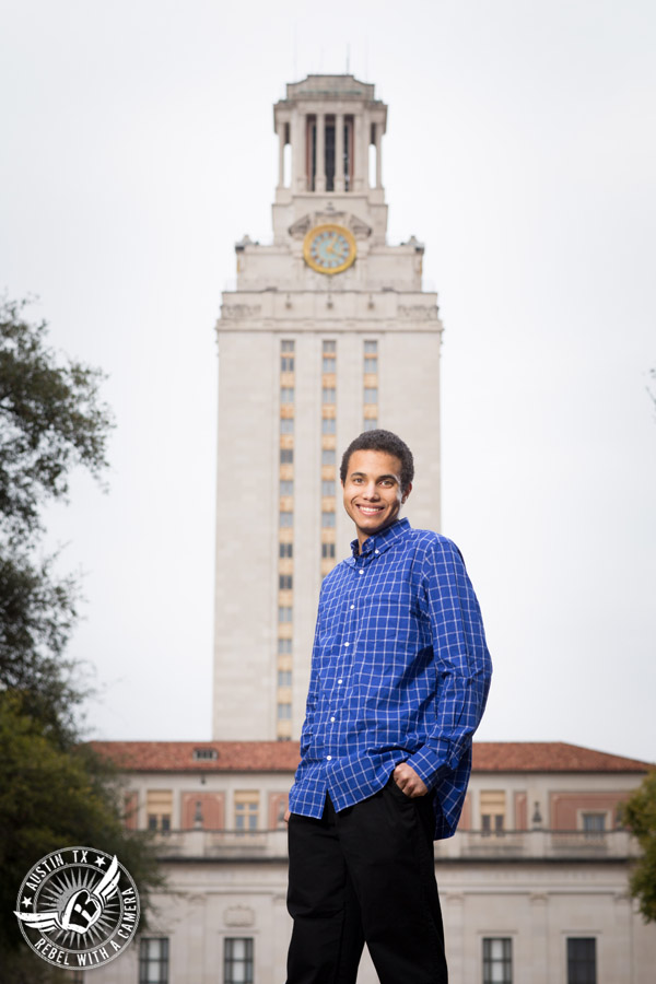 University of Texas at Austin graduation portraits
